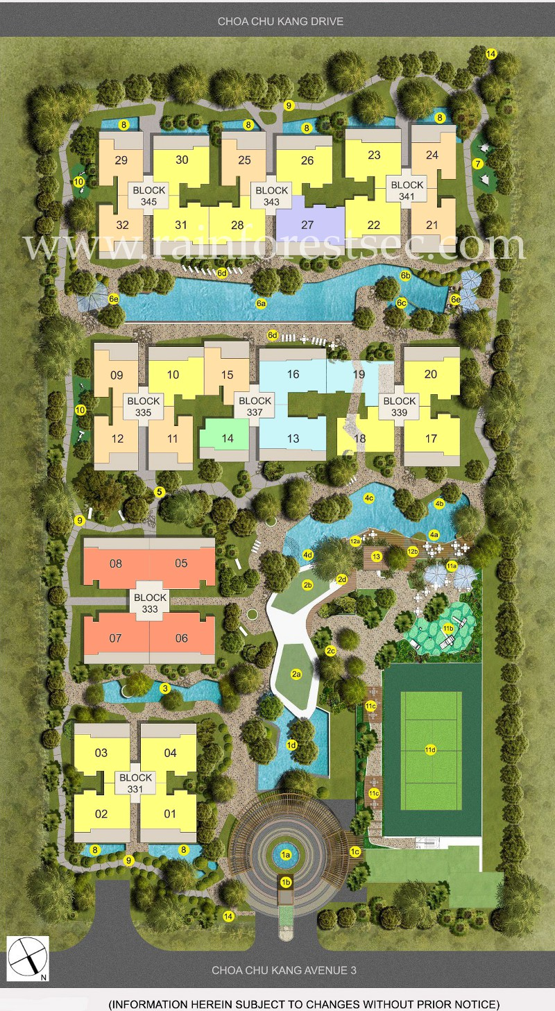 The Rainforest EC Site Plan